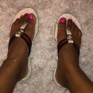 Authentic Gucci flip flops